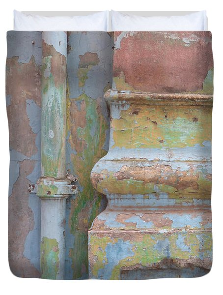 Duvet Cover featuring the photograph Decay by Jean luc Comperat