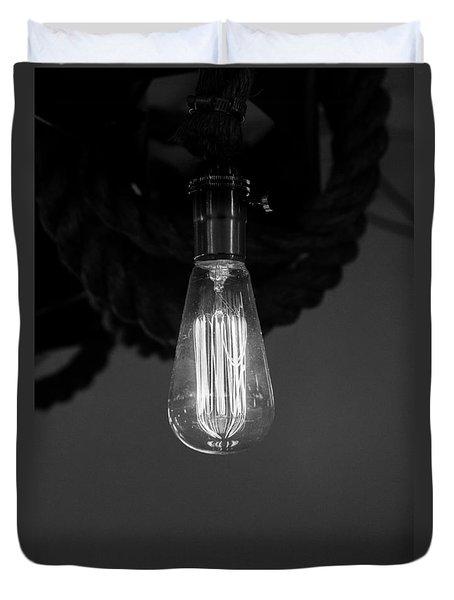 Decca Edison Bulb Duvet Cover