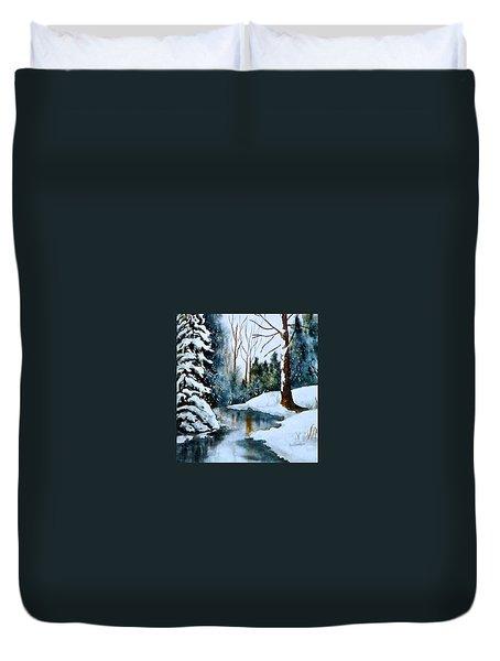 December Beauty Duvet Cover