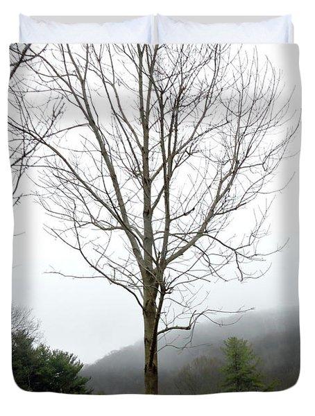 December Mist Duvet Cover