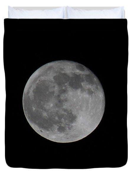 December Moon Duvet Cover