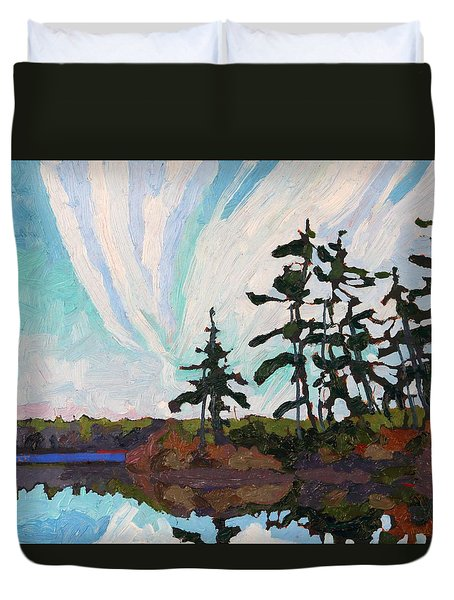 December Morn Duvet Cover by Phil Chadwick