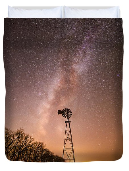 December Night  Duvet Cover