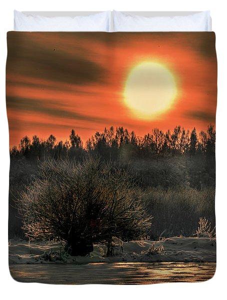 December Sun #f3 Duvet Cover