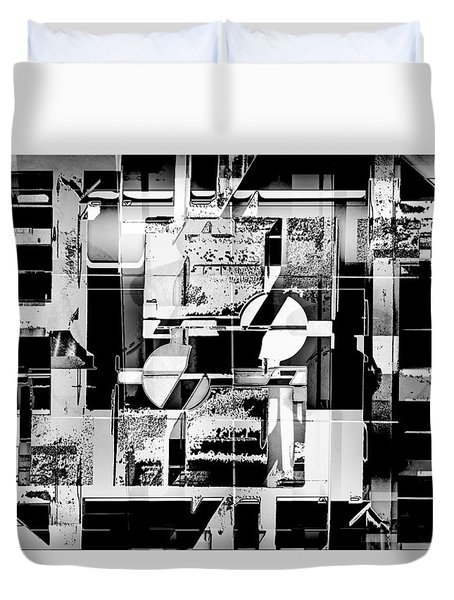 Decentralized Duvet Cover by Don Gradner