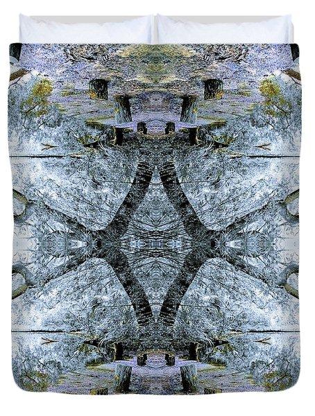 Deciduous Dimensions Duvet Cover