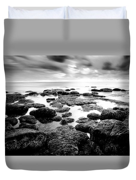 Duvet Cover featuring the photograph Decisions by Ryan Weddle