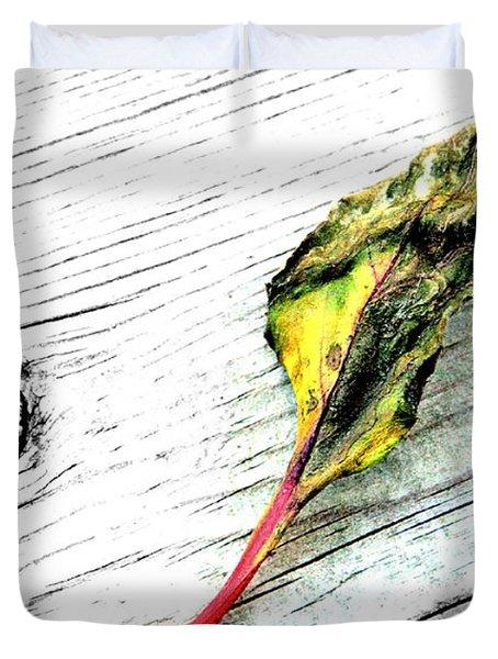 Deck Leaf Duvet Cover