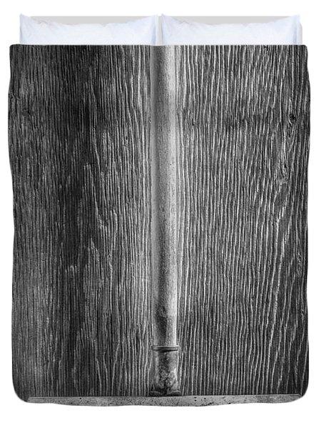 Deck Scrub Brush Duvet Cover