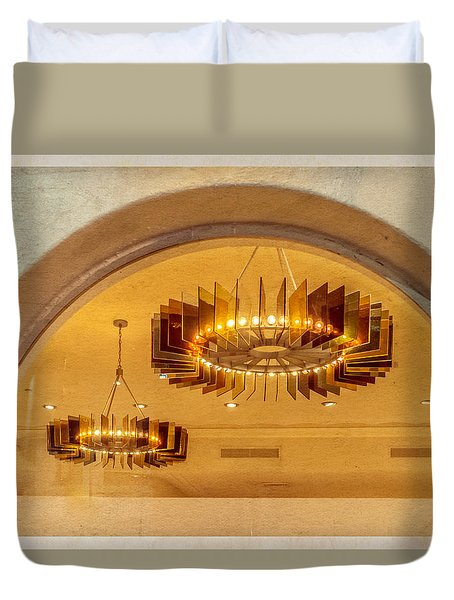 Deco Arches Duvet Cover