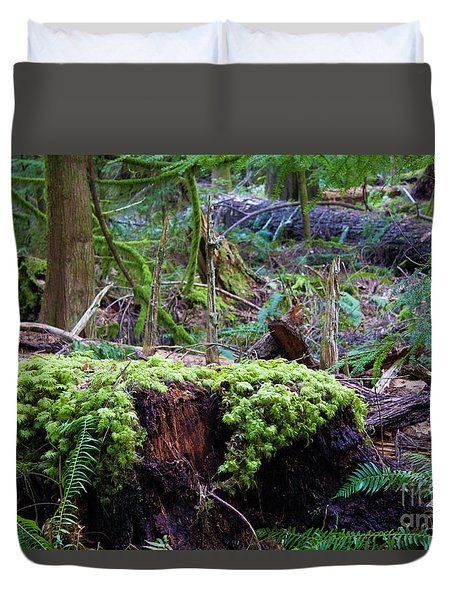 Decomposers Duvet Cover