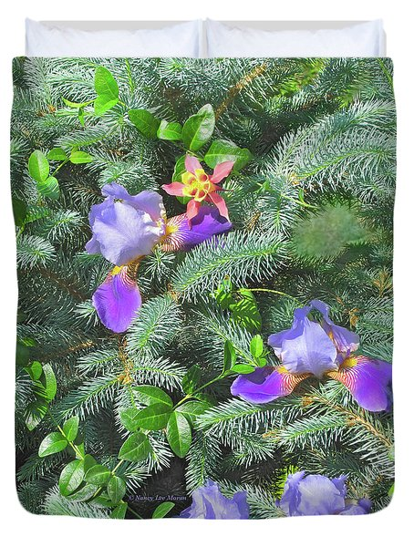 Duvet Cover featuring the photograph Decorating For Spring by Nancy Lee Moran