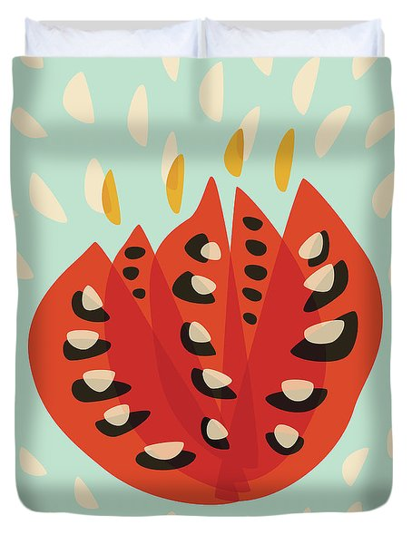 Decorative Beautiful Abstract Tulip Duvet Cover