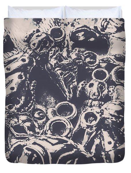 Decorative Dog Design Duvet Cover