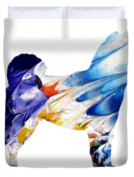 Decorative Husky Abstract O1015c Duvet Cover