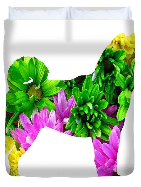 Decorative Husky Abstract O1015d Duvet Cover