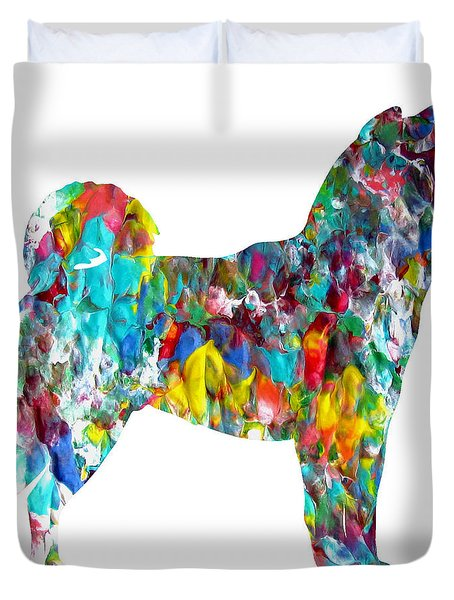 Decorative Husky Abstract O1015h Duvet Cover