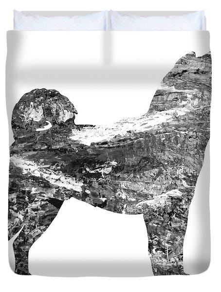Decorative Husky Abstract O1015j Duvet Cover
