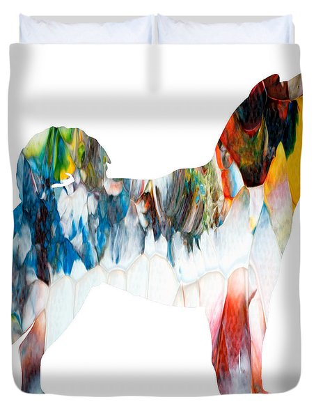 Decorative Husky Abstract O1015l Duvet Cover