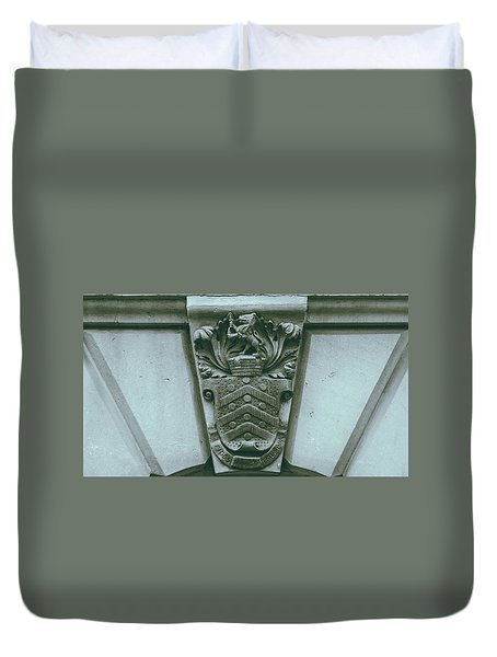 Decorative Keystone Architecture Details C Duvet Cover