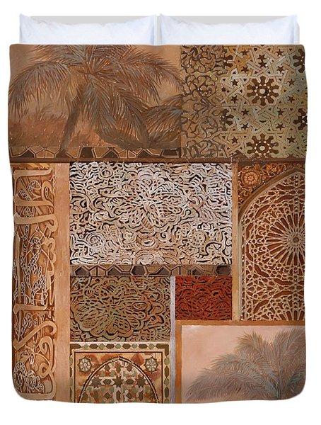 Decorazione Arabesca Duvet Cover