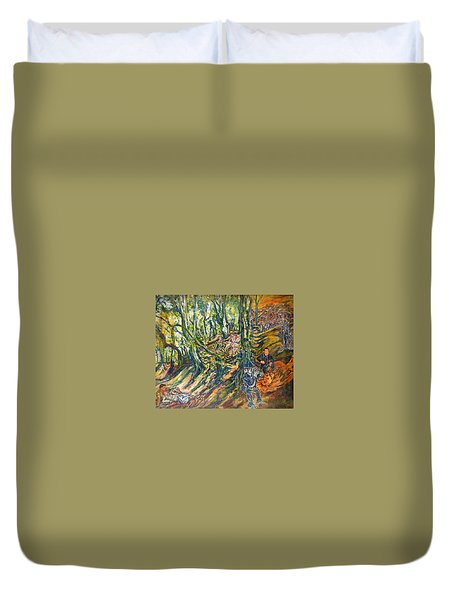 Dedicated To The Memory Of Cecil The Lion Duvet Cover