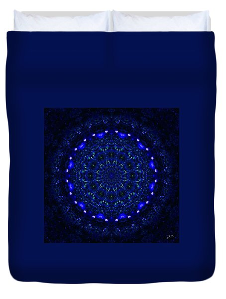 Deep Blue 2 Duvet Cover by Lori Kingston