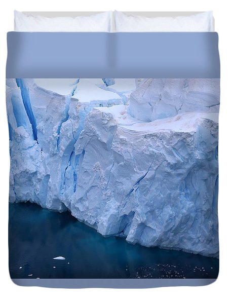 Deep Blue Duvet Cover