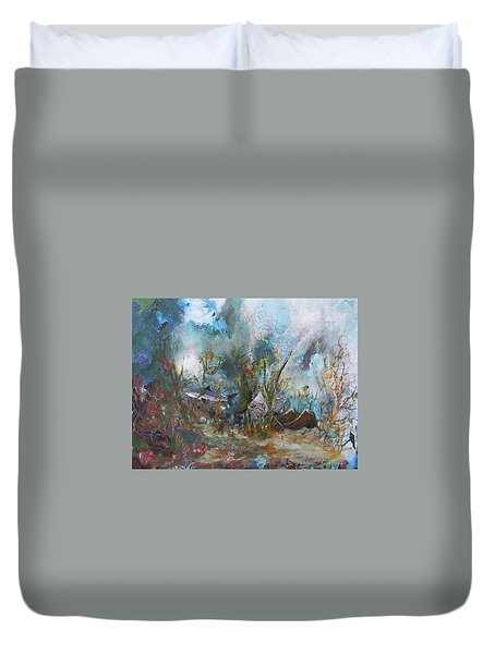 Deep Danger Duvet Cover