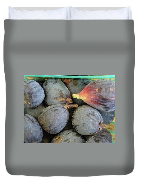 Deep, Dark, Delicious Duvet Cover