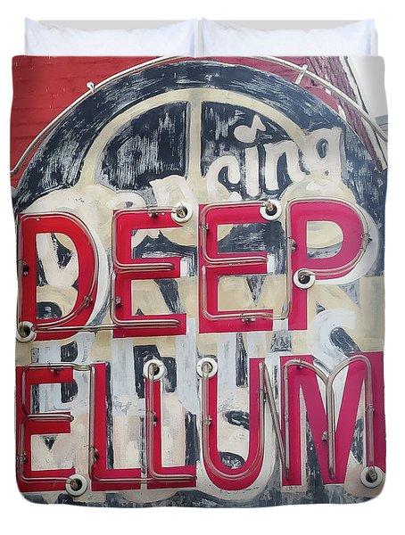 Deep Ellum Dallas Texas Duvet Cover