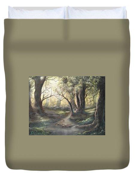 Deep Forest  Duvet Cover
