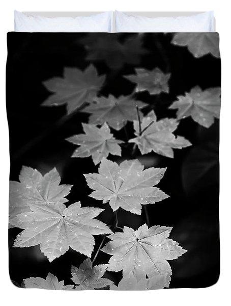 Deep Forest Maple Duvet Cover
