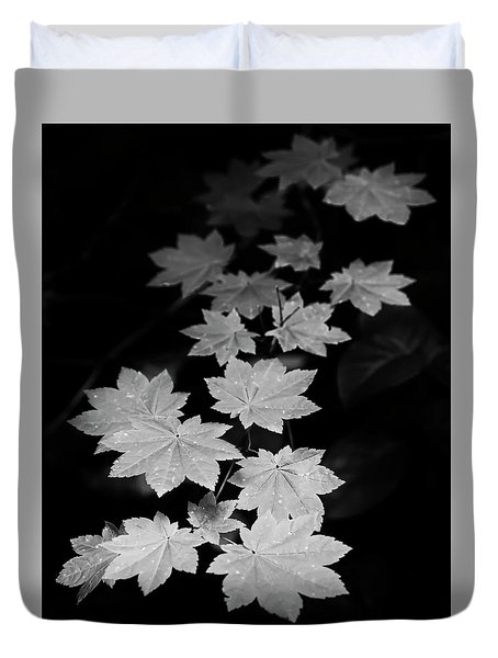 Deep Forest Maple Duvet Cover