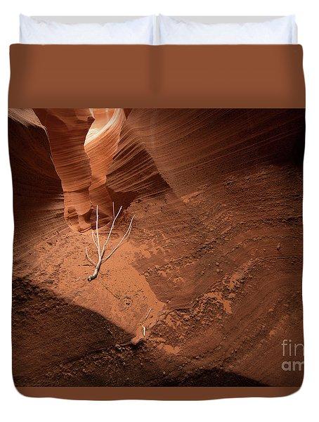 Deep Inside Antelope Canyon Duvet Cover