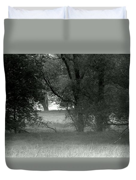 Deep Into The Swamp Duvet Cover