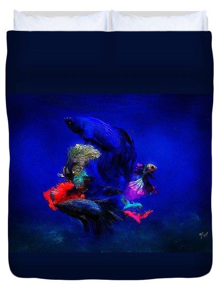 Deep Oceans Duvet Cover