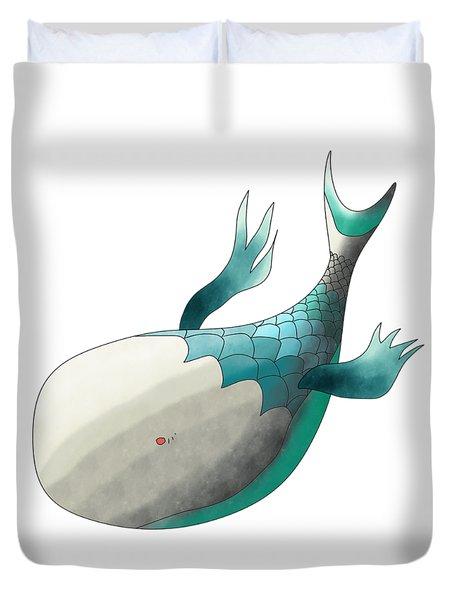 Deep Sea Fish Duvet Cover