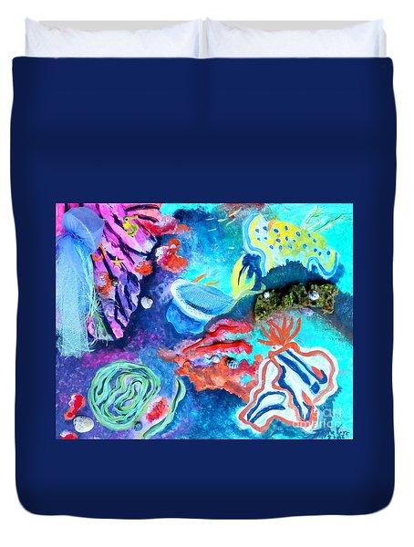 Deep Sea Nudibranch Duvet Cover