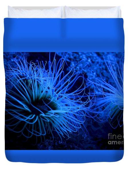 Deep Underwater Duvet Cover by Leo Symon