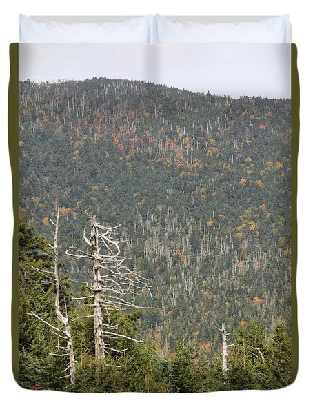 Deeper Into Forest Duvet Cover