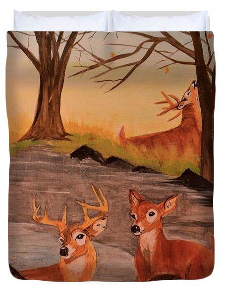 Deer 4 Sean Duvet Cover