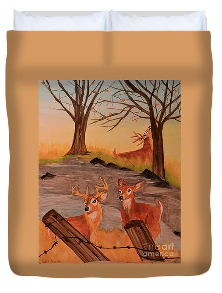 Deer 4 Sean Duvet Cover