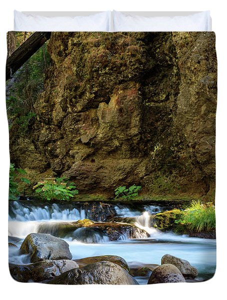Deer Creek Duvet Cover