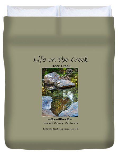 Deer Creek Point Duvet Cover