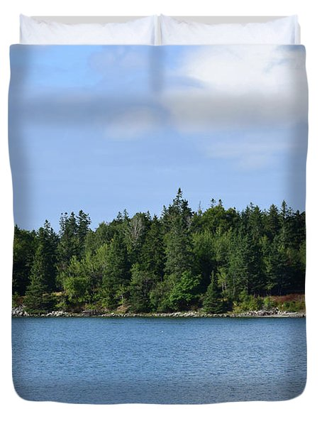 Deer Isle, Maine No. 5 Duvet Cover