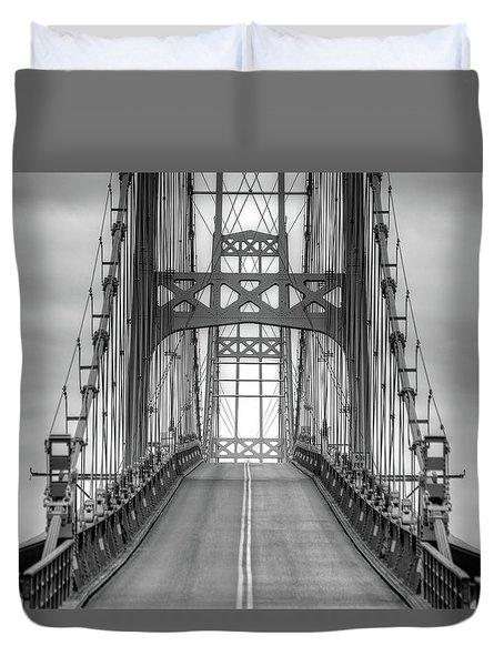Deer Isle Sedgwick Bridge Duvet Cover