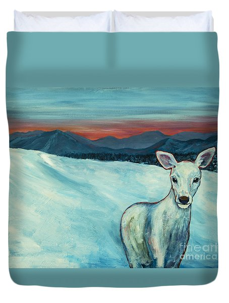 Deer Jud Duvet Cover