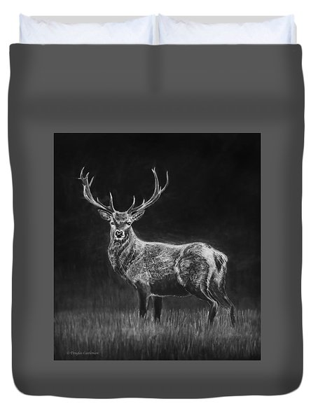 Deer Sketch Duvet Cover