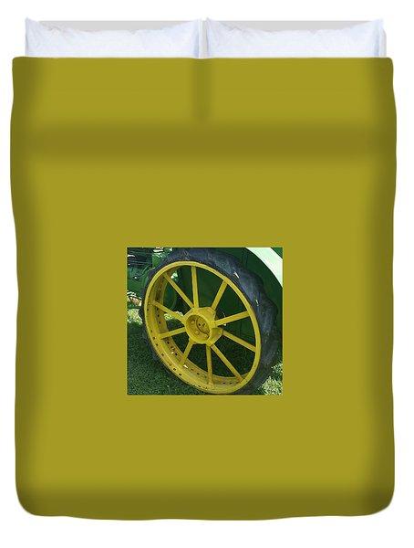 Deere Wheel I Love You Duvet Cover